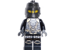 Kingdoms - Dragon Knight Scale Mail with Chains, Helmet Closed,