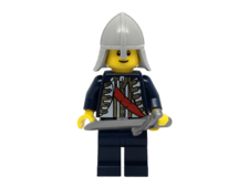 Minifigure cas478 knight with helmet