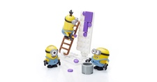 Mega Bloks Minions CNC19 Minions Display Case