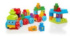Mega Bloks Basic DKX60 1-2-3 Learning Train