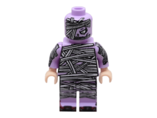 Purple mummy