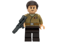 Minifigure Star Wars 75184 Resistance Officer. Major Brance