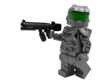 Minifig World Halo Soldier