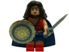 Minifig World Superhero WonderWoman