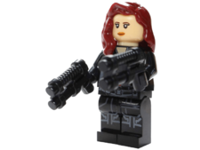 Minifig World Superhero Black Widow