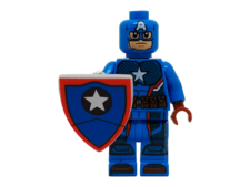 Minifig World Superhero Captain America4