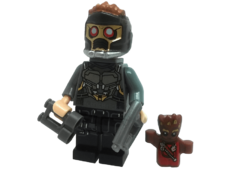 Minifig World Superhero Star Lord