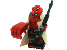 Minifig World Superhero Hellboy