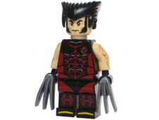 Minifig World Superhero Wolverine3