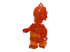 Minifig World Compatible Superhero Human Torch