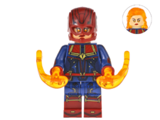 Minifig Compatible Superhero Captain Marvel