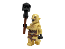 Minifig World Compatible Mace Orc