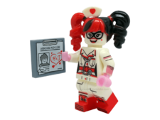 Minifig World Compatible Superhero Harley Quinn