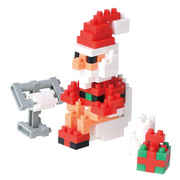 Santa Claus in the Bathroom