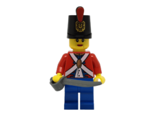 Minifigure pi136 Imperial Soldier II -Female