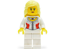 Minifigure Chess Lady Queen