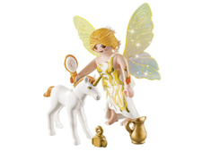 Sun Fairy With Unicorn Foal