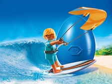 Kite Surfer Gift Egg
