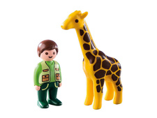 Zookeeper with Giraffe Product No.: 9380