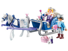 Sleigh with Royal Couple