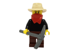 Minifigure ww009 Gold Prospector - Male