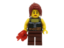 Minifigure ww015 Gold Prospector - Female