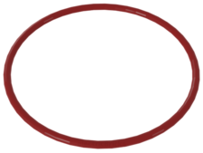 Red Rubber Belt Medium (Round Cross Section)
