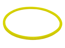 Yellow Rubber Belt Extra Large (Round Cross Section) - Approx. 5