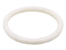 White Rubber Belt Small (Round Cross Section)